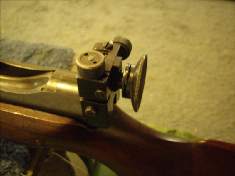Vickers rearsight