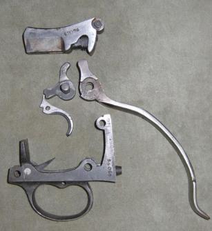 Vickers Trigger Parts