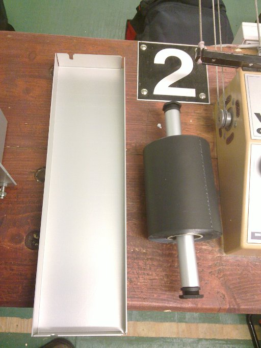 Airgun paper tape and tape roller cover