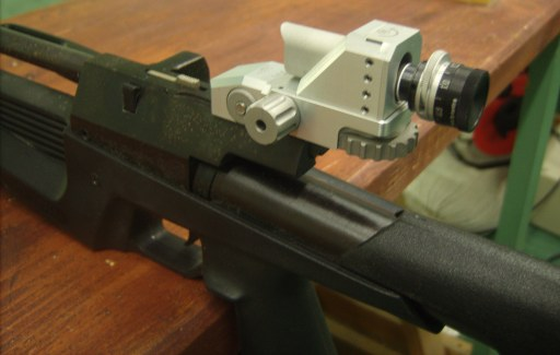 IZH-61 Air Rifle and MEC Free rearsight