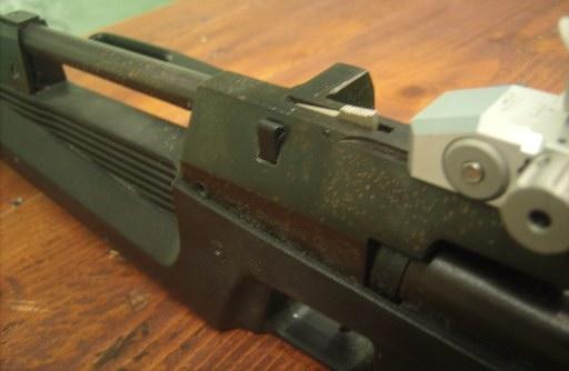IZH-61 Air Rifle magazine loaded