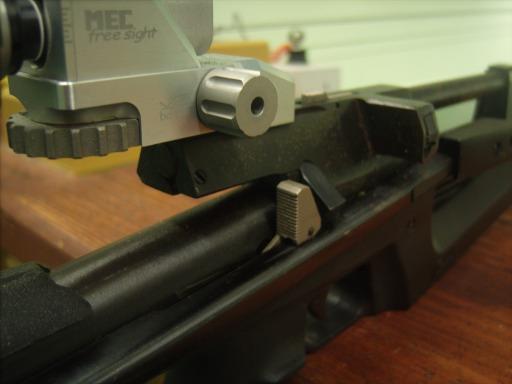 IZH-61 Air Rifle bolt probe