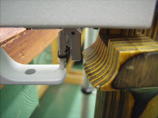 Trigger blade position