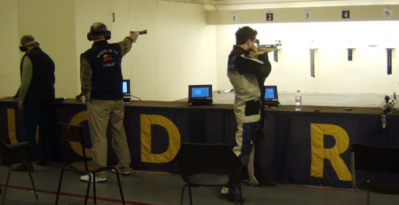 Caroline O'Brien, winner of the Air Pistol event