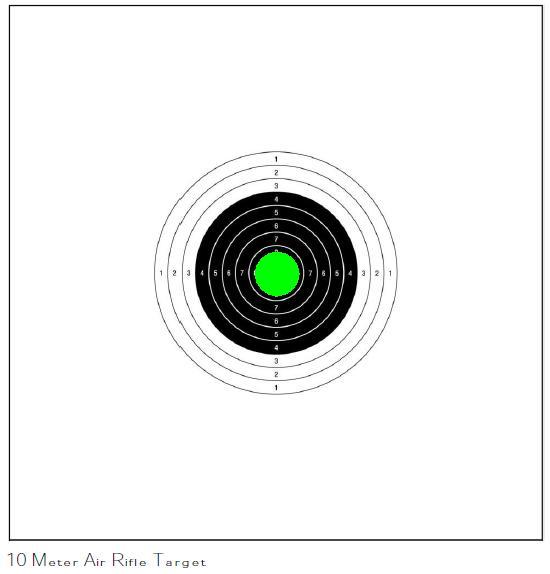 10mAR Pea Target