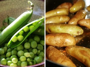 Peas And Potatoes