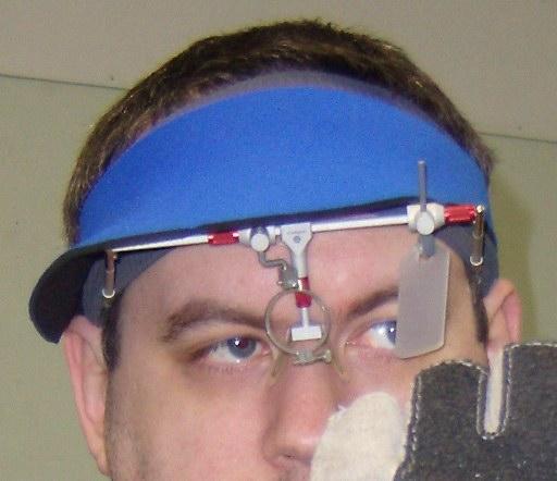 Large shooting frame blinder