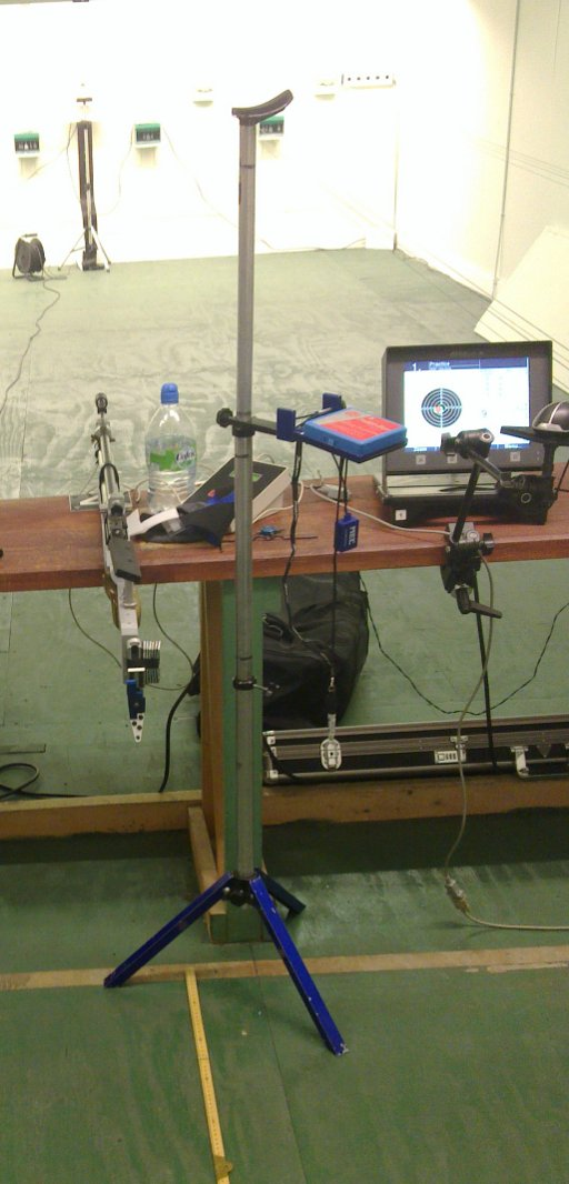 Firing point set up as per UCD with WTSC lighting