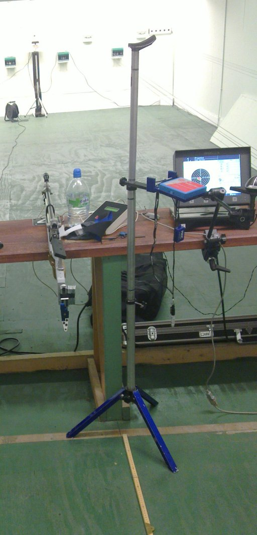 Firing point set up as per normal WTSC training
