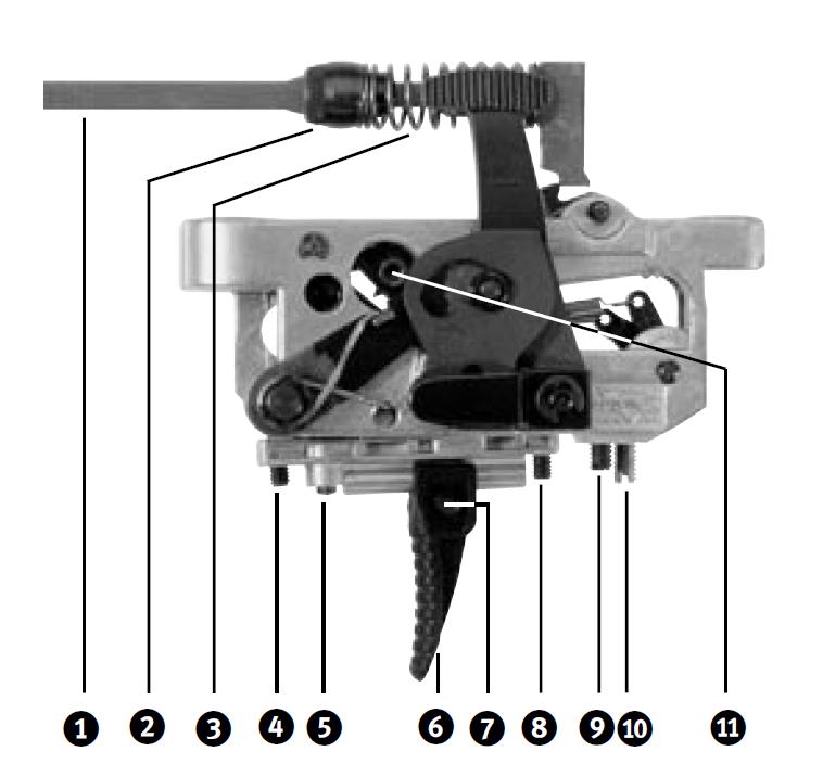 Anschutz Match Trigger modèle 54