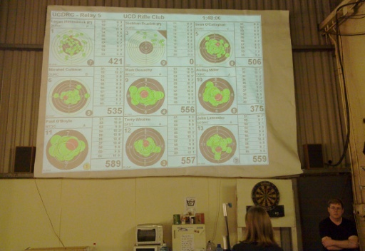 UCD August Airgun Open (Relay 1) 2011