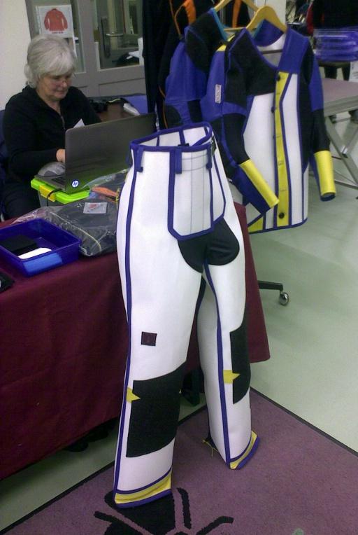 Mouche 3D suit