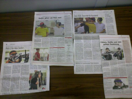 Media coverage of RIAC 2011