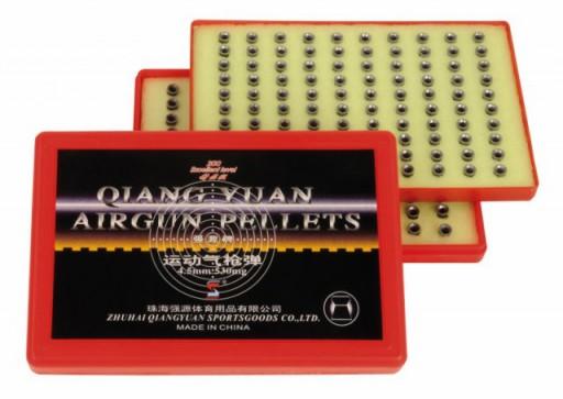 Qiang Yuan 200-pellet trays