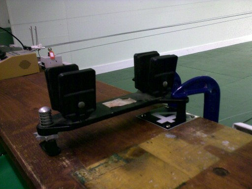 The patented WTSC Really Awful Bench Clamp