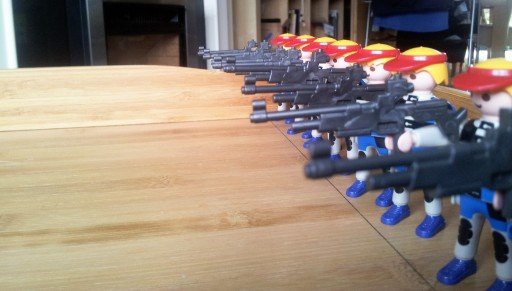 Note the to-scale firing line :D