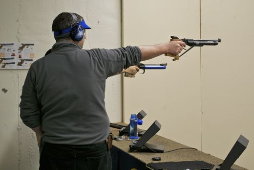 Shooting at the UCD Air Open